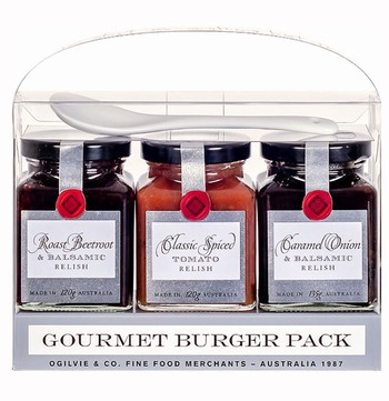 Gourmet Burger Gift Set